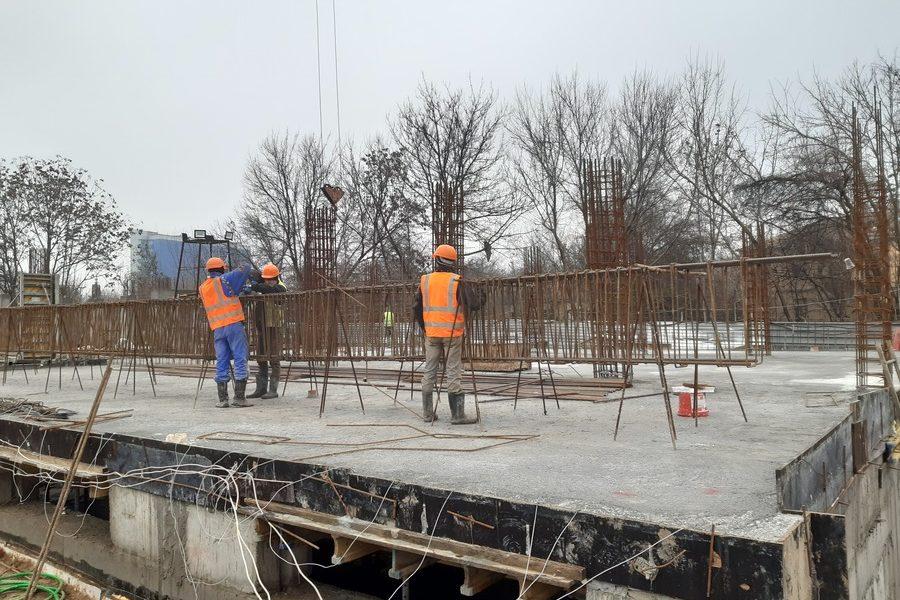 Фотоотчет строительной площадки ЖК «Дубинина»