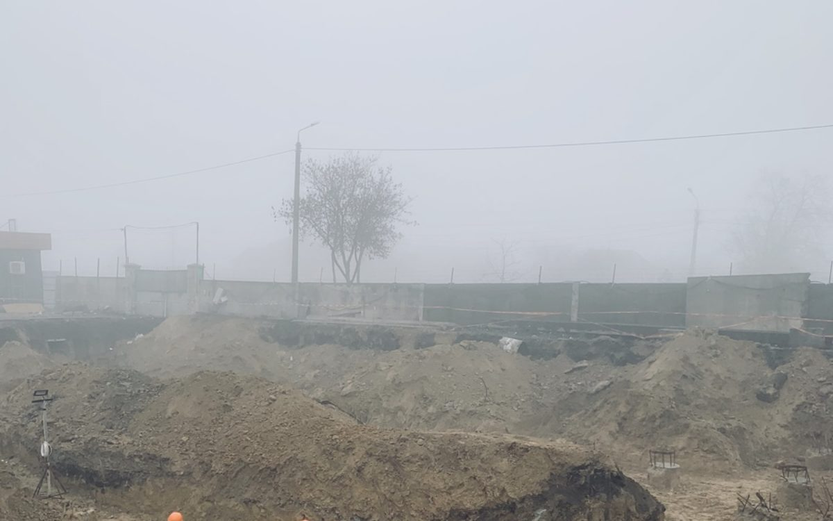 Секция №1. Подготовка свайного поля к обвязке ростверком.