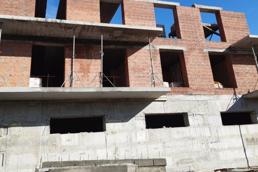 Фотоотчет строительной площадки ЖК Dubinina
