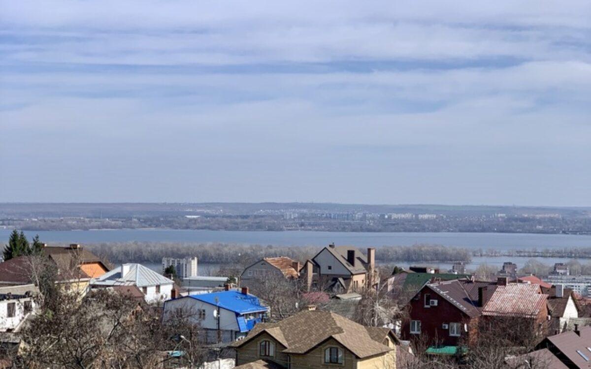 Вид на город с 7 этажа секции №2