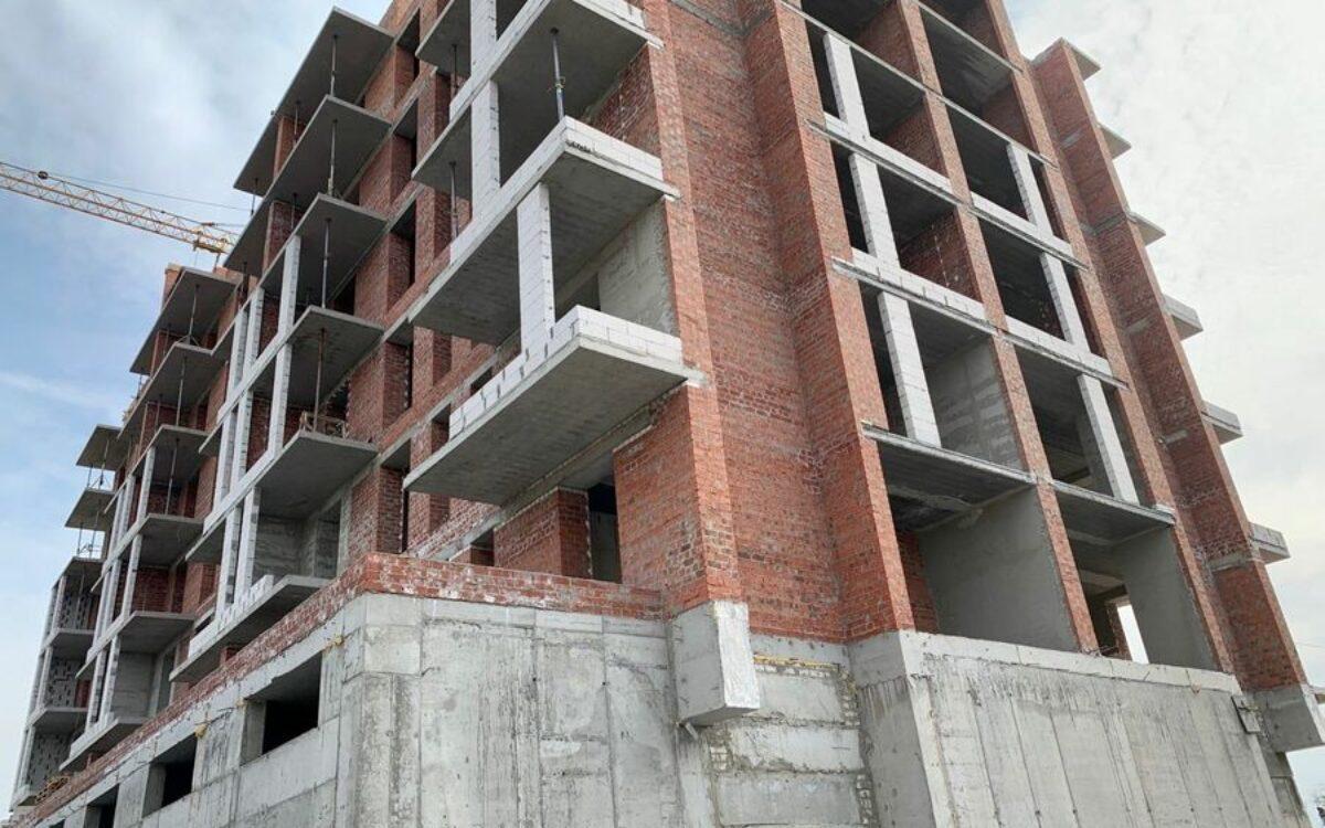 Возведение 9-го этажа