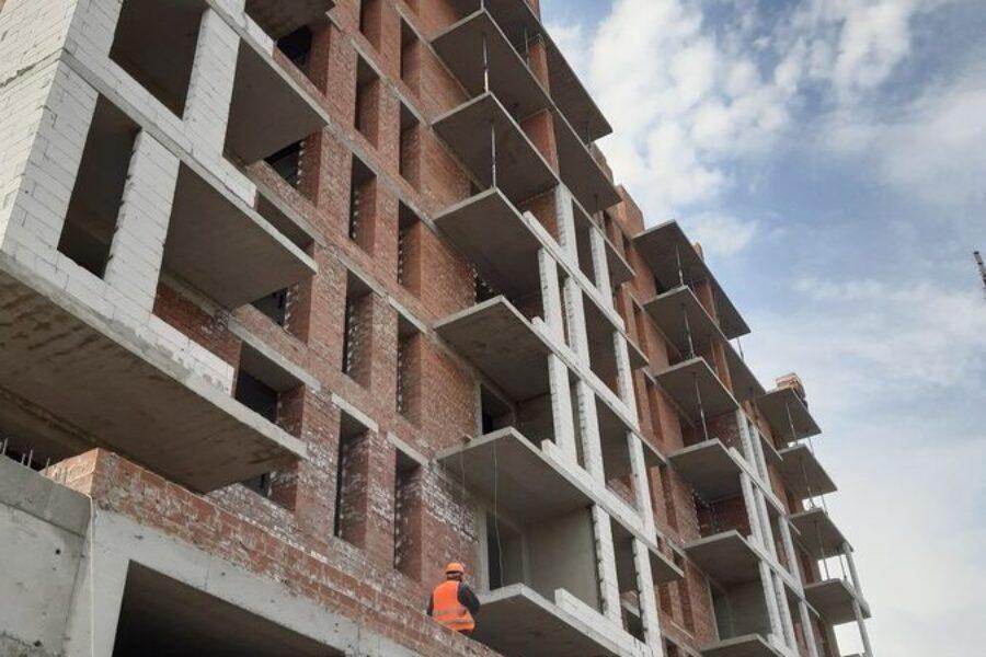 Делимся свежими фотографиями с нашей строительной площадки: