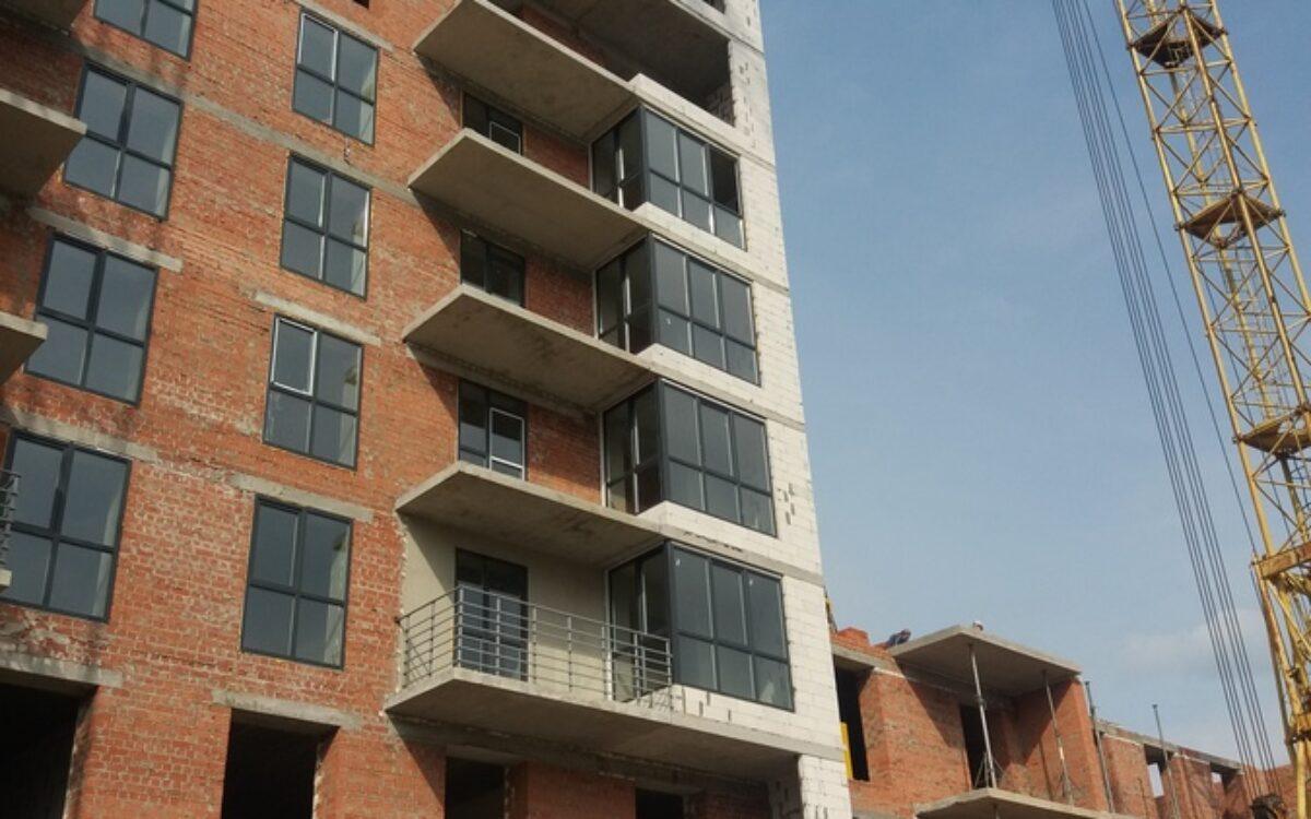 остекление 4-7 этажей