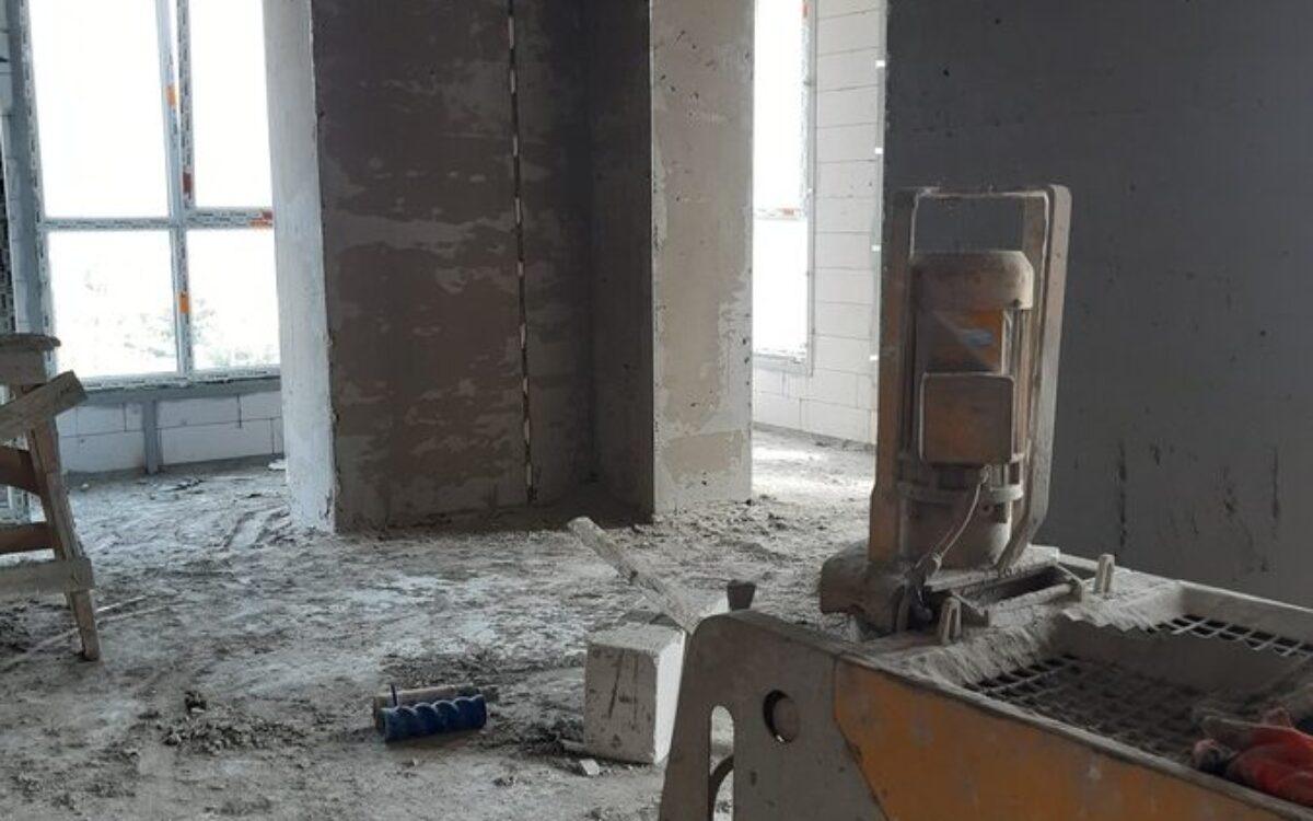 штукатурка 8-го этажа