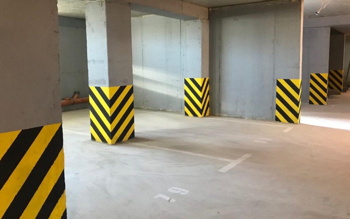 Разметка паркинга